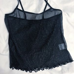 SPARKLY CROP TOP